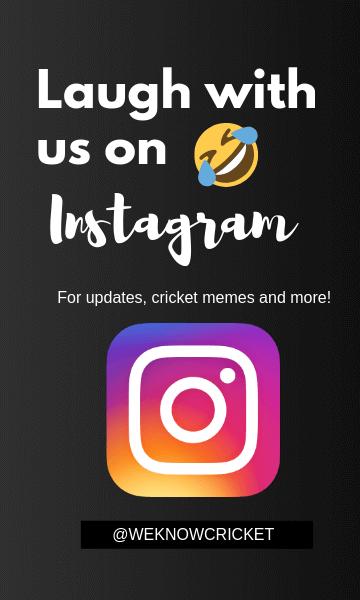 we know cricket instagram