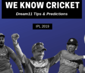 RCB vs RR 2019: Dream11 Team We know Cricket