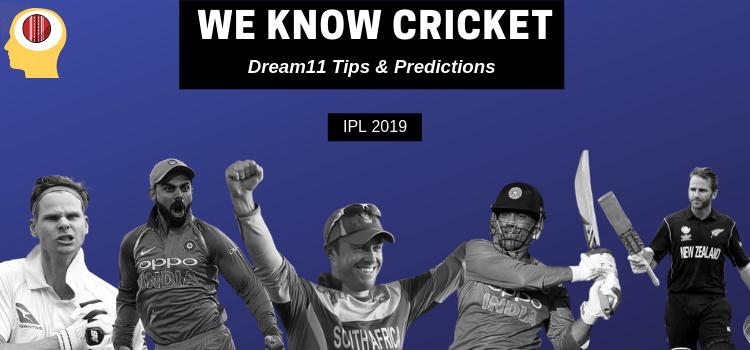 RCB vs RR 2019: Dream11 Team We know Cricket