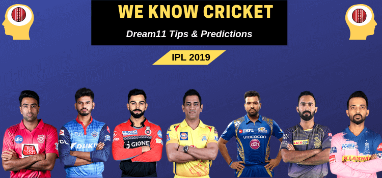 We Know Cricket: RCB vs SRH 2019 Dream11 team and prediction 30th April 2019