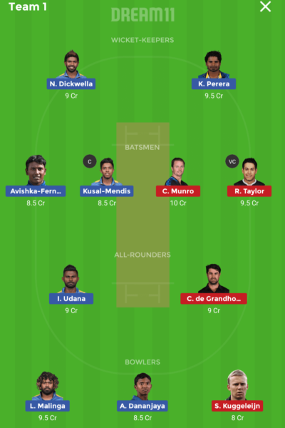 SL vs NZ 2ND T20I Dream 11 Tips & Today Match Predictions