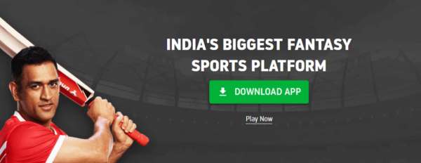 Dream11 homepage